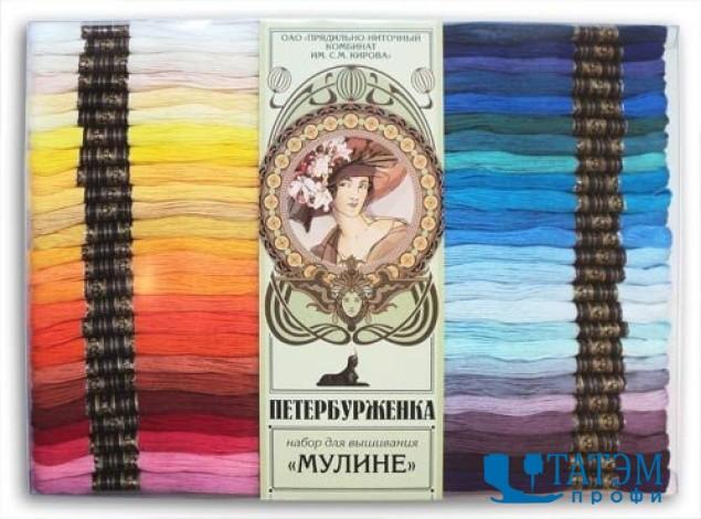 Мулине петербурженка карта цветов купить мужские браслеты черные